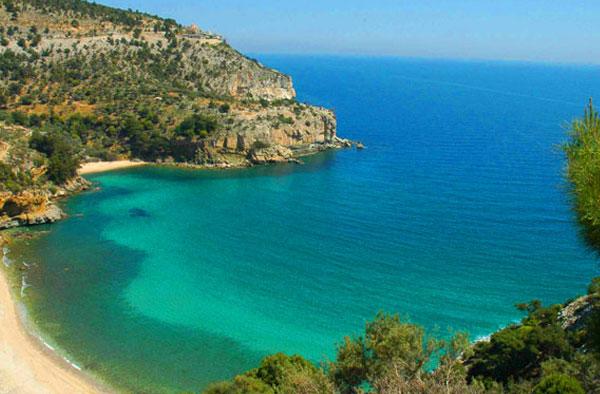 Παραλία Άγιος Γεώργιος - Antiparos island, Greece - Antiparos.com
