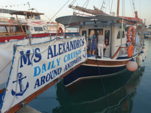 M/S Alexandros Boat Trip